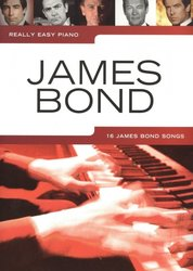 WISE PUBLICATIONS Really Easy Piano: JAMES BOND (16 James Bond Songs )