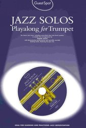 WISE PUBLICATIONS Guest Spot: JAZZ SOLOS + CD  /  trumpeta