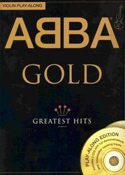 WISE PUBLICATIONS ABBA GOLD - GREATEST HITS + 2x CD / housle
