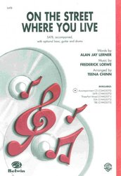 Warner Bros. Publications On the Street Where You Live (from musical My Fair Lady)  / SATB*