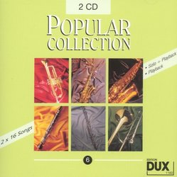 Edition DUX POPULAR COLLECTION 6 - 2x CD s doprovodem