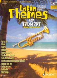 SCHOTT&Co. LTD LATIN THEMES + CD  trumpeta a klavír