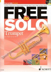 SCHOTT&Co. LTD FREE to SOLO + CD / trumpeta