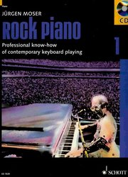 SCHOTT&Co. LTD ROCK PIANO 1 by Jurgen Moser + CD