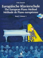 SCHOTT&Co. LTD The European Piano Method v.3  +  CD / Evropská klavírní škola 3.díl + CD