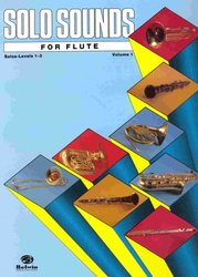 ALFRED PUBLISHING CO.,INC. SOLO SOUNDS FOR FLUTE level 1-3               solo book