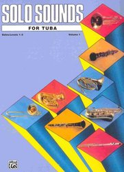 ALFRED PUBLISHING CO.,INC. SOLO SOUNDS FOR TUBA level 1-3              solo book