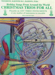 Warner Bros. Publications CHRISTMAS TRIOS FOR ALL - trombon (pozoun)