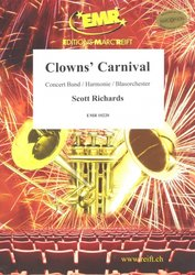 Editions Marc Reift Clowns' Carnival - Concert Band / partitura + party
