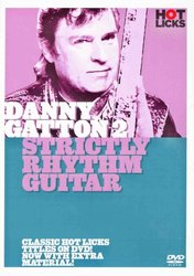Music Sales Limited Hot Licks: Danny Gatton 2 - Strictly Rhythm Guitar   - DVD