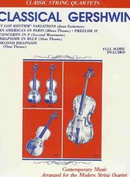 Warner Bros. Publications CLASSICAL GERSHWIN - STRING QUARTET