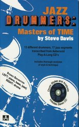 JAMEY AEBERSOLD JAZZ, INC JAZZ DRUMMERS: MASTERS OF TIME by Steve Davis