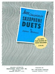 TRY PUBLISHING COMPANY JAZZ CONCEPTION FOR SAX DUETS by Lennie NIEHAUS + CD for 2 alto or 2 tenor saxes