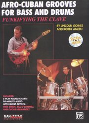 ALFRED PUBLISHING CO.,INC. AFRO-CUBAN GROOVES for BASS and DRUMS + 2x CD