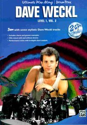 ALFRED PUBLISHING CO.,INC. DAVE WECKL - Ultimate Play-Along, level 1, volume 2 + 2x CD    drums
