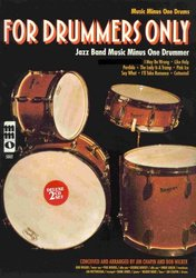 Music Minus One FOR DRUMMERS ONLY! + CD