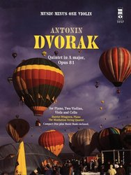 Music Minus One DVOŘÁK, Antonín - Quintet in A major, Opus 81 + CD / housle