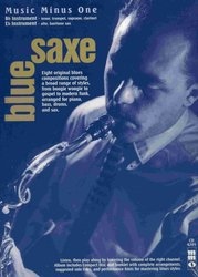 Music Minus One BLUESAXE - Blues for Sax, Trumpet or Clarinet + CD  //   Eb / Bb instruments
