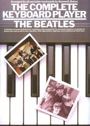 WISE PUBLICATIONS The Complete Keyboard Player: The BEATLES - zpěv/akordy