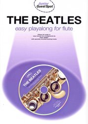 WISE PUBLICATIONS THE BEATLES easy arrangements + CD / flétna