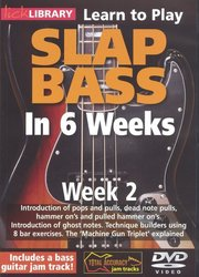 Roadrock Music International L SLAP BASS in 6 Weeks by Phil Williams - Week 2 - DVD