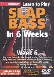 Roadrock Music International L SLAP BASS in 6 Weeks by Phil Williams - Week 6 - DVD