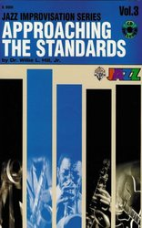 Warner Bros. Publications APPROACHING THE STANDARDS + CD v3   Bb instrument