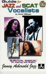 JAMEY AEBERSOLD JAZZ, INC GUIDE FOR JAZZ&SCAT VOCALISTS + CD