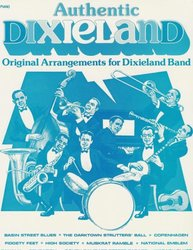 Warner Bros. Publications AUTHENTIC DIXIELAND - COLLECTION    dixieland band (8ks)