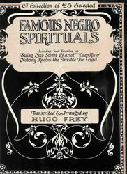 Warner Bros. Publications FAMOUS NEGRO SPIRITUALS