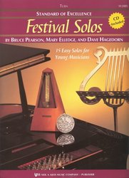 Neil A.Kjos Music Company Standard of Excellence: Festival Solos 1 + CD / tuba