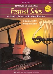 Neil A.Kjos Music Company Standard of Excellence: Festival Solos 1 + CD / trumpeta