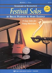 Neil A.Kjos Music Company Standard of Excellence: Festival Solos 2 + CD / tuba