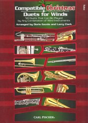CARL FISCHER Compatible Christmas Duets for Winds //  tuba