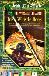 MEL BAY PUBLICATIONS Irish Tin Whistle Book (key of D) + CD pack (book/CD/whistle)