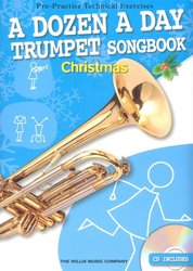 The Willis Music Company A DOZEN A DAY - CHRISTMAS SONGBOOK + CD / trumpeta (trubka)