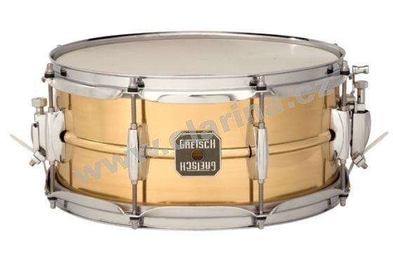 "Gretsch malý buben Full Range Series Legend Brass 14"" x 5,5"" S-5514GL-PBR"