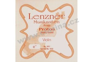 Lenzner Protos - E struna pro housle 0.26mm