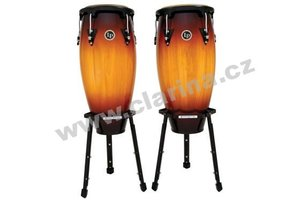Latin Percussion Aspire Wood Conga Sets LPA646B-VSB