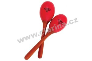 Latin Percussion Maracas, Wood Maracas - Large/Red